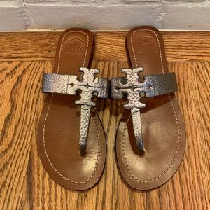 Tory Burch Moore Leather Sandals Size 6